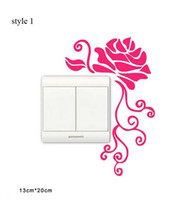 Wholesale Hot Sale New Switch Sticker On off wall sticker stickers decal styles