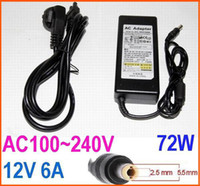 Wholesale Good Quality AC100 V DC W V A Power Supply Adapter Charger for LCD Notebooks and LED strip plug EU US AU BS