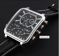Wholesale V6 leather watch wristwatch for man new fashion design gift watch