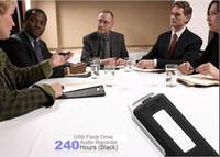Cheap 50pcs DHL free shipping Portable Mini 8GB USB Pen Disk Flash Drive Digital Audio Voice Recorder Worldwide FreeShipping