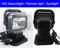 Wholesale 12V W Rotating Wireless Remote Control HID Xenon Search Work Light for Boat Car SUV Camping Hiking