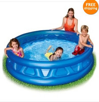 Wholesale Inflatable swimming pool Soft Side Inflatable Kiddie Pool kids inflatable swimming pool YC32