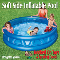 Wholesale Inflatable swimming pool Intex Soft Side Inflatable Kids Swimming Pool quot x quot Blue Kiddie Pool
