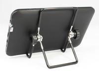 Wholesale Foldable Portable degrees Adjustable Universal Steel Desktop Stand Mount Holder for tablet PC