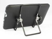 Wholesale Foldable Portable degrees Adjustable Universal Steel Desktop Stand Mount Holder for tablet PC