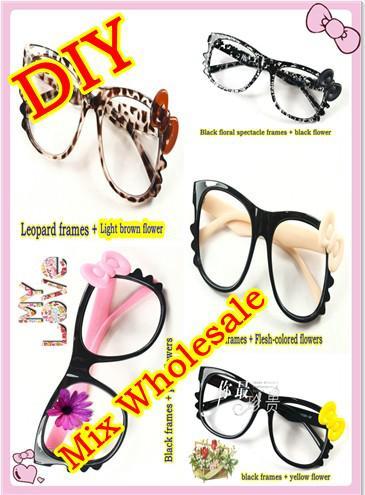 mix wholesale diy glasses frames black glasses