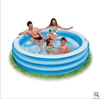 Wholesale Intex Inflatable Yard Outdoor Crystal Blue Swimming Kiddie Kids Paddling Pool swimming YC40A