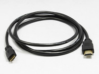 Wholesale 5 FT Mini HDMI to HDMI Cable M to Male1 b Hi Speed Wire p HD Good quality