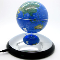 Wholesale New colors Revolving magnetic floating global world inch Magnetic Levitation World Map Globe