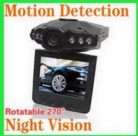 Wholesale Classic Car vehicle Black Box DVR Security Camera And TFT Colorful Screen LED IR Night Vision S319