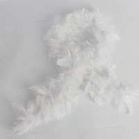Wholesale Feather Boas Child s Princess Dress Up White Ship From USA F1001WH