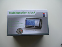Wholesale 2GB SPY hidden Camera Clock digital Alarm With Motion Sensor amp Remote Controller X480 FPS