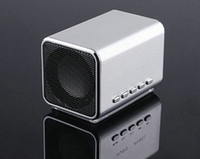 Wholesale mini Speaker Sports MP3 Player Sound box Boombox with Micro SD TF card reader USB Music Angle MD05