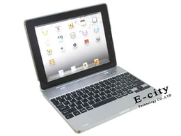 Wholesale Rechargeable Bluetooth Wireless Keyboard Hard Case mAh Battery In For iPad iPad2
