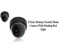 Wholesale Dummy Security Dome Camera With Flashing Red Light