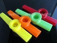 Wholesale 100pcs KAZOO flute children gift good gift good aid plastic flute