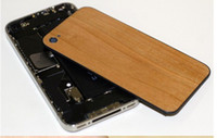 Wholesale Luxury Wood back housing for iphone s hand crafted