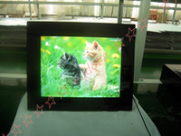 Wholesale Mirror Surface Inch Digital Photo Frame With Black White Color Multifunction Retialed Box