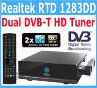 Wholesale NEW Dual Tuner HD DVB T TV Recorder H MKV Network Media Player Realtek
