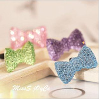 Wholesale blingbling Crystal bowknot headphones hole dustproof plug phone headset dust hole plug