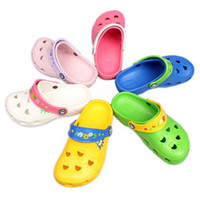 Wholesale New Arrive COQUI Girls Boys Slippers toddler Sandals Kids shoes Garden Shoes