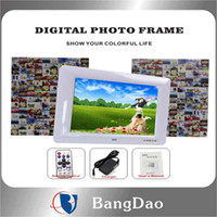 Wholesale 8 inches digital photo frames music player movie player