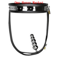 Female Chastiy Belt Stainless Steel Wholesale- New Female Stainless Steel Fully Adjustable & Lockable Chastity Belt with Anal Plug