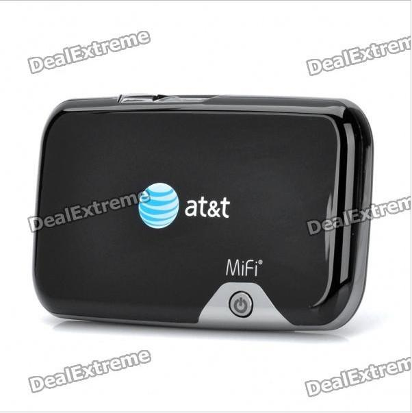 at t novatel mifi 2372 wireless mobile hotspot usb 3g network wifi router wireless router. Black Bedroom Furniture Sets. Home Design Ideas