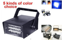 Wholesale 2pcs New LED Strobe Lamp LED Flash lamp Party LED Strobe stage Light DJ Lighting five color