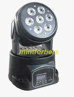 Wholesale 7 W RGBW in LED Moving Head wash light led stage lighting for dj club party