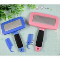 Self- Cleaning Slicker Brush for Dogs