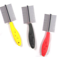 High Quality Pet Needle Comb Single Side and Double- Sided