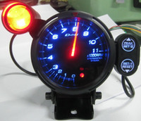 RACING CAR bf tachometer - NEW mm DEFI Stepper Motor BF Style Tachometer Blue Led
