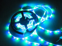 Holiday high intensity led - 300LED SMD RGB Flexible LED Strip light Led M DC12V m roll waterproof High intensity Drop