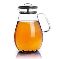 Wholesale 1900ml Glass Teapot Water Jug Glass Pitcher Big Volume Jug GTP017