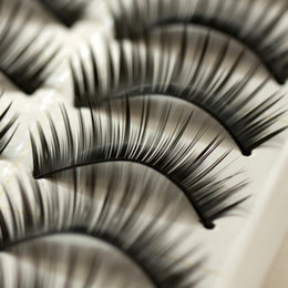 Wholesale New Pairs Thick Long False Eyelashes Eyelash Eye Lashes Voluminous Makeup HJM006