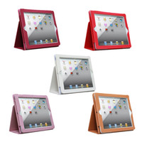 Leather Case Skin Cover For 2 ipad2 Tablet PC Netbook Stand ...
