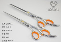 Wholesale Promotion Hair Scissors Shear Cutting and Thinning Scissor Barber Scissor JOEWELL JP440C INCH Cheap price lo