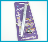 Wholesale 10pcs Magic Magica Secret uv Pen Secrete Hidden with Blue Light