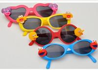 Wholesale 30pcs Children kid s sunglasses Sunglasses sunglasses SESAME STREET super cute UV protection