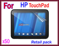 Wholesale 50pcs Anti Glare amp Matte Screen Protector film For HP TOUCHPAD Retail package RW P04