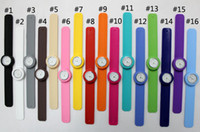 Wholesale 100pcs Snap Slap Watch Silicone Candy Jelly Sports Fashion Watches for Children and Kids with quartz