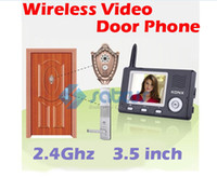 3.5 inch 2.4Ghz Wireless video door phone - 3 quot Wireless Video Door Phone Automatic Door Opener Video Peephole Phone Auto Door Opener Ghz