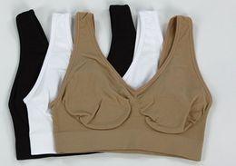 Wholesale WOMEN bra sport bra colors Fashion sexy Seamless Microfiber Pullover Underwear Bra