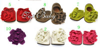 10CM / 11CM / 12CM best toddler slippers - Best match TOP BABY Top baby feet spend toddler shoes toddler foot slippers flower