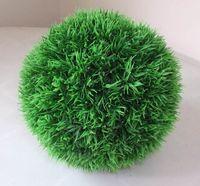 Wedding basket ball diameter - Artificial plastic grass ball boxwood ball buxus ball wedding home party decoration cm diameter