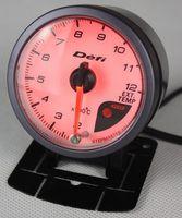 Wholesale NEW mm DEFI Style of Meter CR Stepper Motor EXHAUST GAS TEMP GAUGE WITH SENSOR Gauge Auto Meter