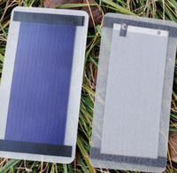 Wholesale 1W flexible solar cells of amorphous silicon can foldable solar panel V MA phone charger