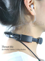 Wholesale cheap hot sale Way Radios Throat Mic Headset for Walkie Talkies SS109477