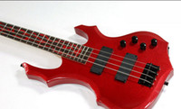 best stock picks - best Tnew he rhythm of the high elves strong magnetic pick up red electric bass OEM in stock